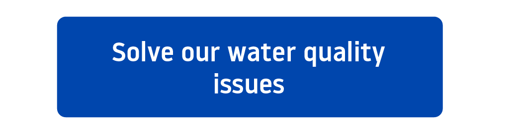Solve your water quality issues call to action button